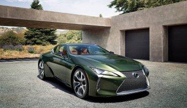 2020年式Lexus LC Limited Edition售價559萬元起限量登場!