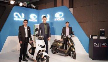 引領印度機車市場電動化!KYMCO攜手領騎印度獨角獸新創電動車公司全面導入Ionex車能網