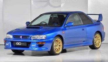 JDM車迷必看!從時空膠囊出來的極新1998 Subaru Impreza 22B STi