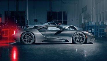 福特GT超跑改款登場,液態碳纖特仕車超吸睛