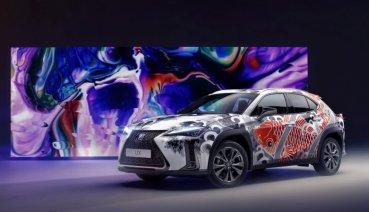 向日本takumi匠人精神致敬,Lexus UX「全球首輛刺青車」超吸睛