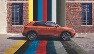 新世代Audi Q3、Q3 Sportback多樣色彩選擇打造專屬風格!