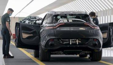 Aston Martin英國產線復工,首重恢復品牌首款休旅DBX生產