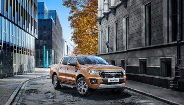 Ford Ranger運動型進化搭載360度環景影像系統、再推限量Ranger Texas Edition特仕版!