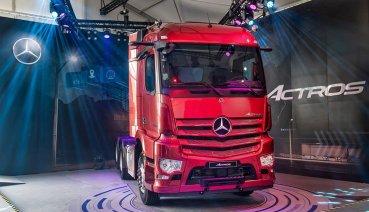 新款Mercedes-Benz Actros登台!搭載全新數位座艙、MirrorCam數位後視鏡