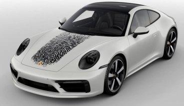 Porsche推出「指紋」個性化車身彩繪for 911