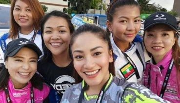 有哪國家車手參加Asia Cross Country Rally比賽呢?