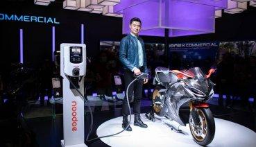 KYMCO 2019東京摩托車展公開SuperNEX充電系統Noodoe EV OS!