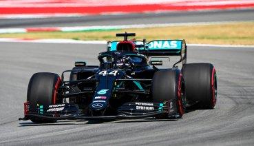 西班牙GP自由練習二Hamilton獨強