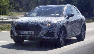 全新Audi Q3最快明年亮相 車身尺碼均有所放大