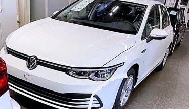 VW全新8代Golf試裝車提前曝光,全新內裝和外觀顛覆過往傳統