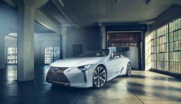 2019北美車展:奢華生活的新提案,Lexus LC Convertible Concept 世界初公開
