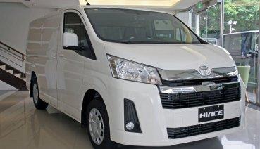 競爭力十足的日系純商用車,Toyota Hiace 第六代國際向規格展間實拍