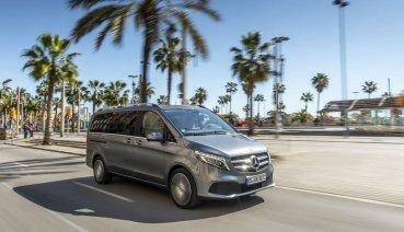 即將於 9/26 發表, Mercedes-Benz V-Class 小改款導入新歐六動力、加長型 V 300 d AVANTGARDE