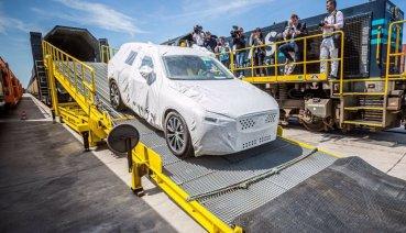 Volvo持續實踐「一帶一路」,中國製XC60搭火車出口歐洲