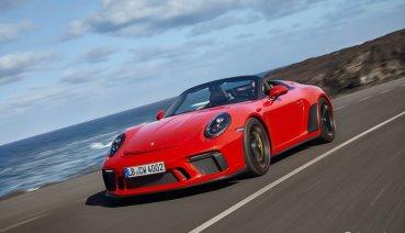 [海外試駕] 手排操控靈魂 敞篷GT浪漫 Porsche 911 Speedster 海外試駕
