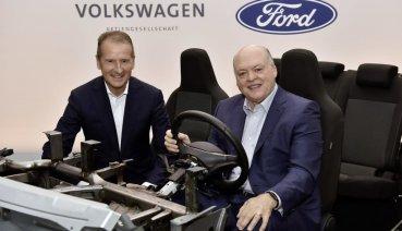 不只是商車,Volkswagen與Ford戰略聯盟合作將延伸至自動駕駛與電動車