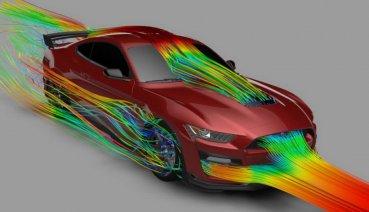 Ford史上最強野馬Mustang Shelby GT500強悍的秘密來自3D列印!?