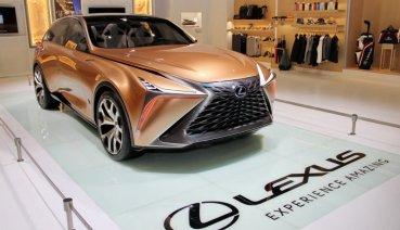 2020台北車展:未來新能源旗艦概念跑旅Lexus LF-1 Limitless Concept