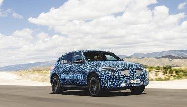 賓士電動車EQC上市時間已近,西班牙展開夏季耐熱性能測試