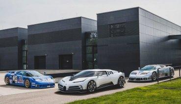 致敬傳奇EB110,限量10輛、售價800萬歐元的Bugatti Centodieci上市即完售
