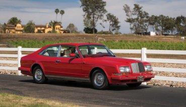 90年代最熱血!客製化BENTLEY Empress II Coupe確定現身RM Sothebys拍賣會!