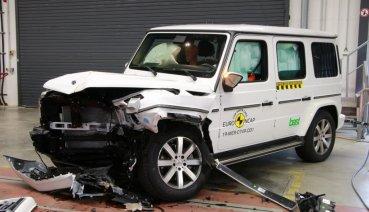 M-Benz G-Class的Euro NCAP首撞處女秀,40年未曾大改的它能過關嗎?