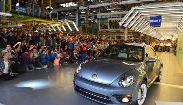 後會有期了!Volkswagen Beetle 第三代車型正式於墨西哥廠停產、暫別車壇!