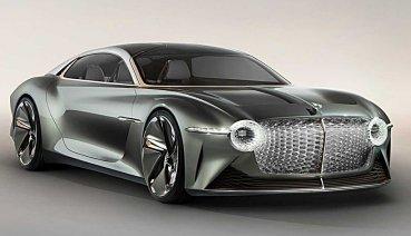 賓利百周年電動概念車EXP 100 GT首發,預告未來完全自動駕駛的旅行經驗