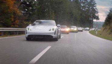 保時捷的驚天動地60秒 Taycan電動跑車領銜主演