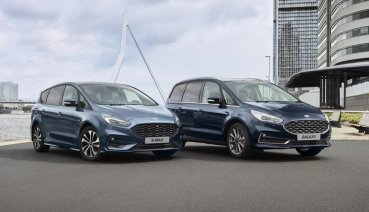 Ford西班牙廠電能轉型,新款S-MAX Hybrid / Galaxy Hybrid明年初上市