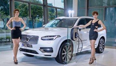 全新小改款Volvo XC90今率先亮相、領軍PHEV全車系齊登2020台北車展!