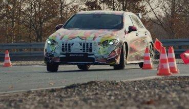 Mercedes-AMG A45 4MATIC影片現蹤,A咖性能當家將擁近400匹馬力!