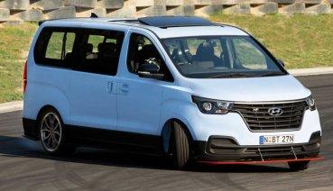 N Performance 染指商用車市場?Hyundai iMax N Drift Bus 原型車讓你在賽道甩尾甩爽爽