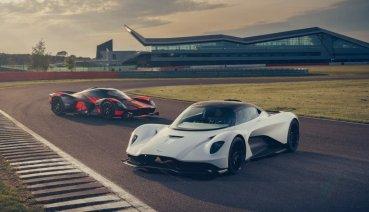 Aston Martin發佈Valhalla首支動態影片 與Valkyrie一同馳騁銀石賽道