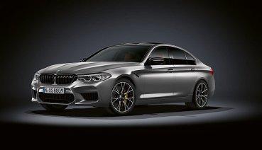 BMW M5推出更高性能的M5 Competition,最大馬力飆升至625hp