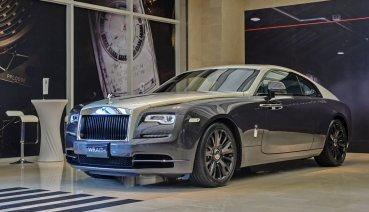 致敬航空史傳奇事蹟!全球限量50台Rolls-Royce Wraith Eagle VIII抵台亮相