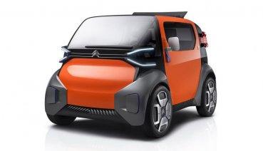 2019日內瓦車展:共享經濟的實踐,Citroen AMI ONE Concept 都會移動載具亮相