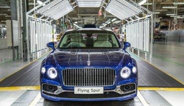 Bentley旗艦之作第三代Flying Spur生產啟動,2020年開始交車!