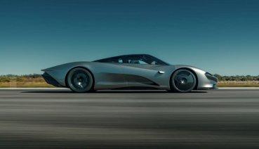 McLaren Speedtail極速破紀錄!突破四百大關 並公佈動力與性能數據