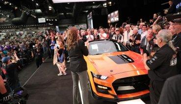 「眼鏡蛇」不敵「牛魔王」!首輛Ford Mustang Shelby GT500以110萬美元落槌