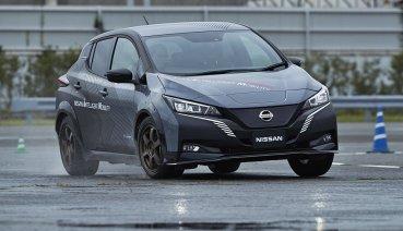NISSAN推出雙電動馬達四驅技術e-4ORCE,讓電動車操控運動如高性能跑車