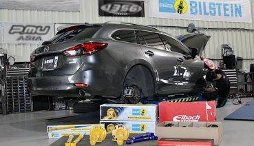 當日式美學遇上德式工藝,Mazda 6 Wagon與BILSTEIN相遇的瞬間