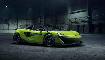 為天空無限而奔!McLaren 600LT Spider正式亮相(內有影片)