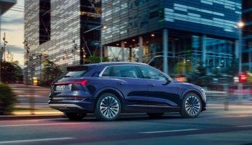 新年式Audi e-tron軟硬體更新 續航里程增加25公里