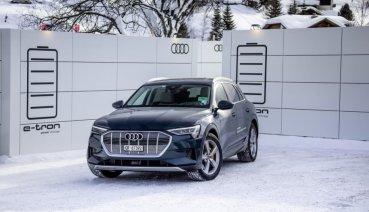 獨家贊助世界經濟論壇,Audi e-tron純電休旅已接單超過2萬張!