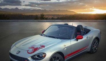 歡慶70周年!2020 Fiat 124 Spider「蠍刺」上身!