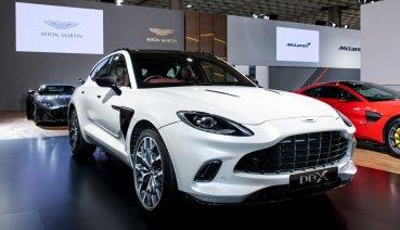 2020台北車展:Aston Martin首款SUV DBX 988萬起,磅礡在台亮相!