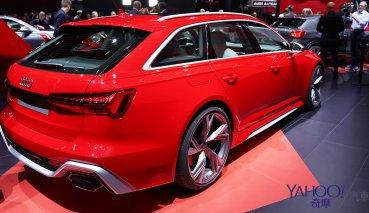 【新車圖輯】熱血派家長極致首選!Audi最強Wagon旅行車款RS6 Avant嗆辣現身!