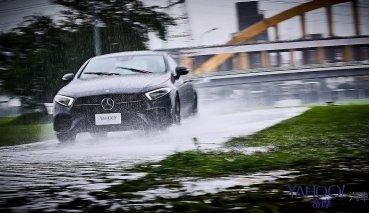 【新車圖輯】壁壘分明的駕馭戀曲!Mercedes-Benz CLS 350雨天試駕